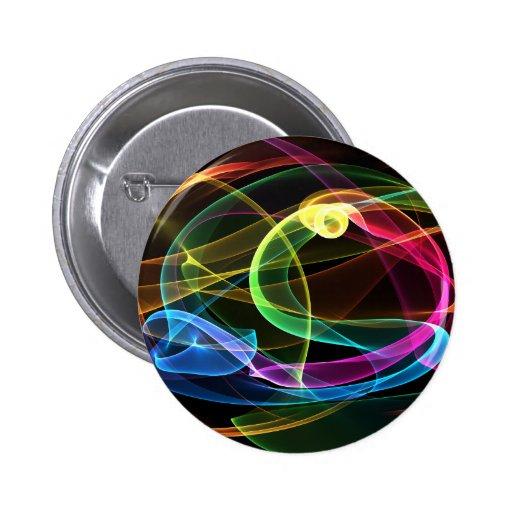 Organic Rainbow Buttons