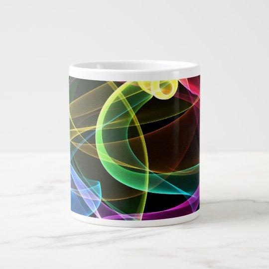 Organic Rainbow Large Coffee Mug