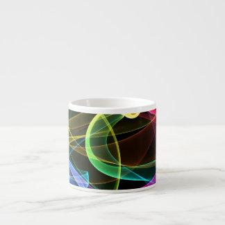 Organic Rainbow Espresso Cup