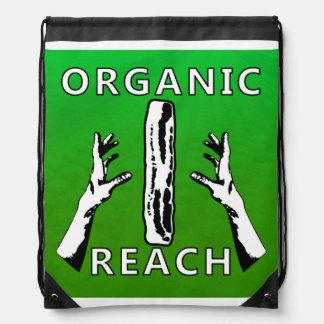Organic Reach with Bacon Drawstring Bag