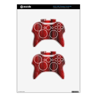 Organic Red Special Effects 2D Electronics Skins Xbox 360 Controller Skin