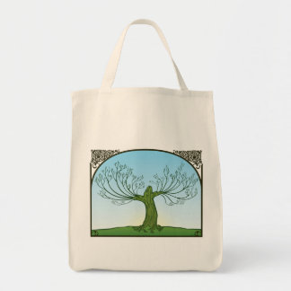 Organic 'regrowth' tote grocery tote bag