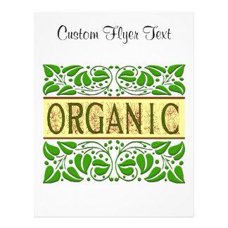 Organic Saying Flyer Template