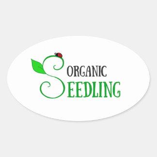 Organic Seedling Sticker