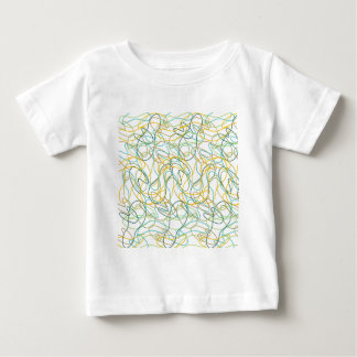 Organic Shapes with White Background Baby T-Shirt