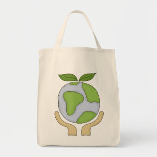 Organic Shopping Tote-Go Green Environment Tote Bag