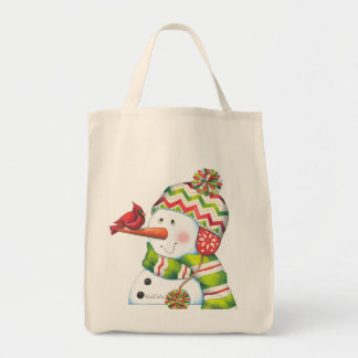 Organic Snowman bag