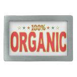 Organic Star Tag Belt Buckles