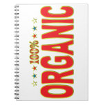 Organic Star Tag Notebook