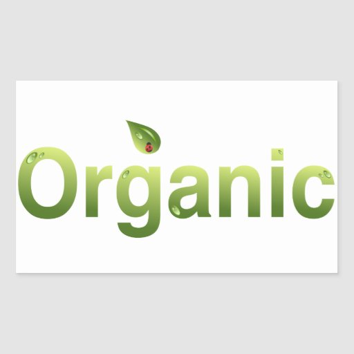 Organic Rectangle Stickers