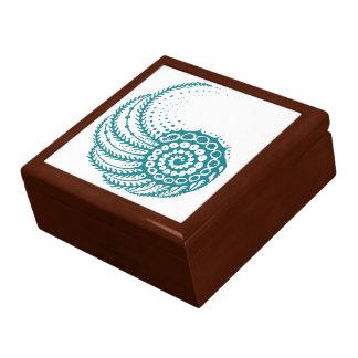 Organic Swirl Trinket Box