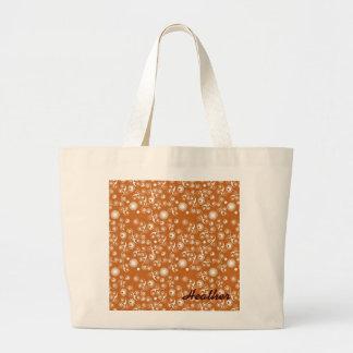 Organic swirly pattern bag