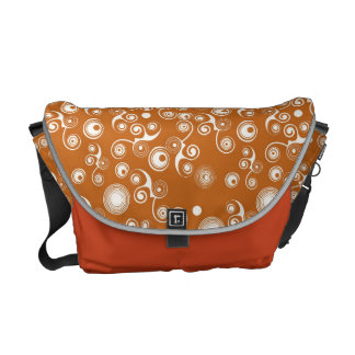 Organic swirly pattern courier bags