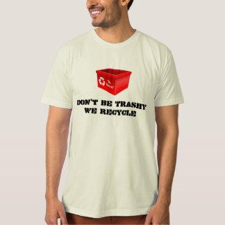 Organic T-shirt Natural We Recycle