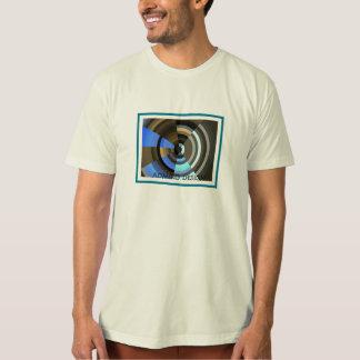 Organic T-Shirt, Natural with Abstract Design T-Shirt
