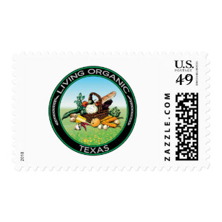Organic Texas Postage Stamps