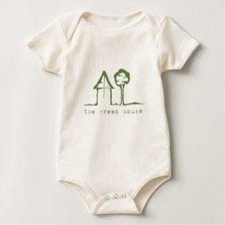 Organic The Green House Baby Bodysuit