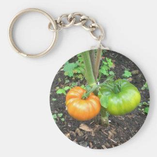 Organic Tomatoes Keychain