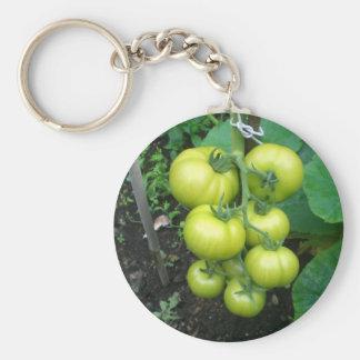 Organic Tomatoes Key Chain