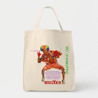 Organic Tote 360° sean360x Tote Bags