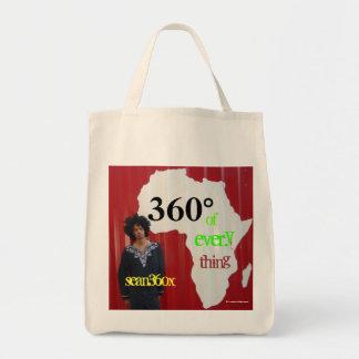 Organic Tote sean360x 360° Africa Tote Bags
