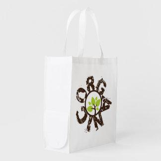 Organic Tree Organic Planet Reusable Canvas Bags