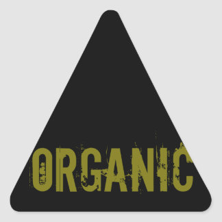 Organic Triangle Sticker