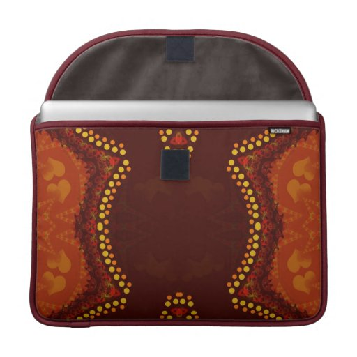 Organic Tribal Love Macbook Pro Laptop Sleeve
