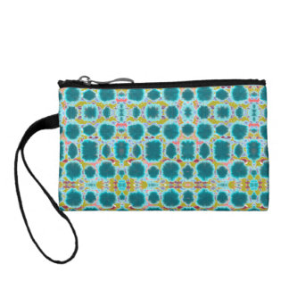 Organic tribal pattern purse