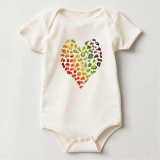 Organic Vegan Baby by Mini Brothers Baby Bodysuit