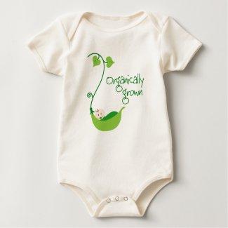 Organic Vegetarian Baby shirt