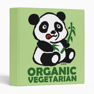 Organic vegetarian binder
