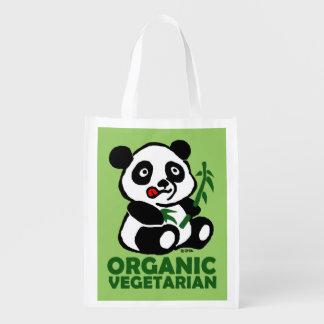 Organic vegetarian grocery bag