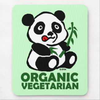 Organic vegetarian mouse pad