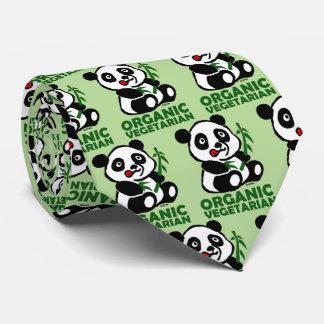 Organic vegetarian neck tie