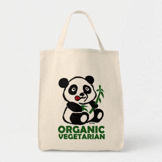 Organic vegetarian tote bag