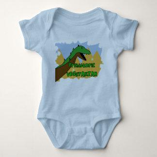Organic Veggie DIno Crawler Baby Bodysuit