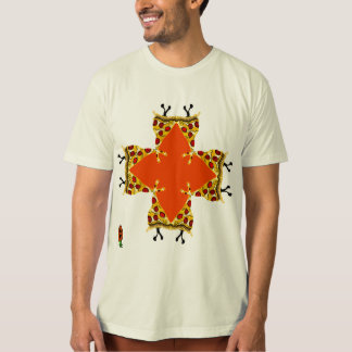 Organic Video Game Pizza BCS Tee Shirt