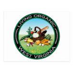 Organic West Virginia Postcard