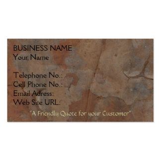 ORGANIC WOODSY Business Card