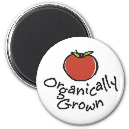 Organically Grown 2 Inch Round Magnet