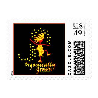 Organically Grown T shirts & gifts Postage Stamps