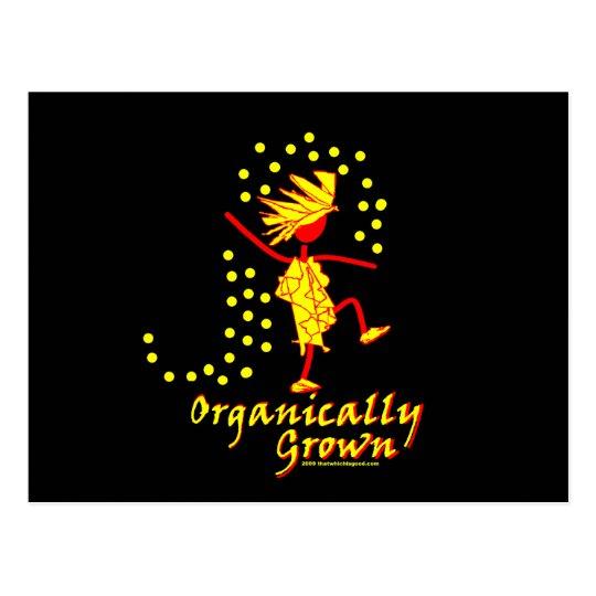 Organically Grown T shirts & gifts Postcard