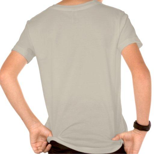 Organically raised kids shirt