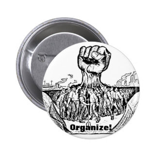 ¡Organice! botón Pin Redondo De 2 Pulgadas