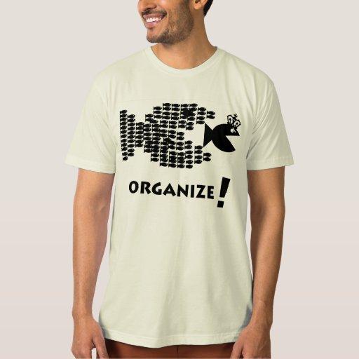 Organice la camiseta remera