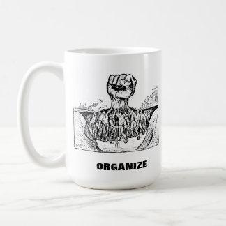 organice la taza de café