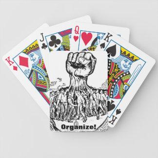 ¡organice! naipes baraja de cartas