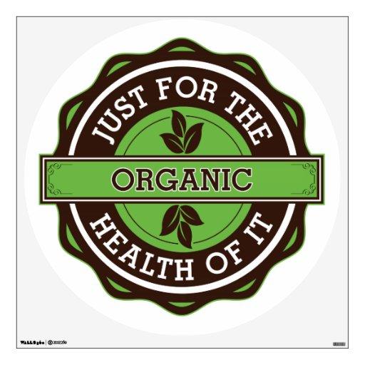 Orgánico apenas para la salud de ella