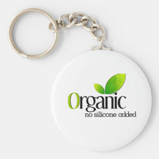 Orgánico - ningún silicón añadido llavero personalizado